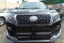 Nigeria Used Toyota Land Cruiser Prado 2010 Model Black