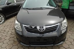 Nigeria Used Toyota Avensis 2012 Model Black