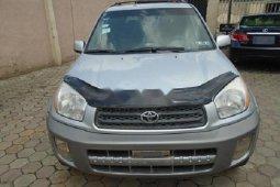 Nigeria Used Toyota RAV4 2005 Model Silver