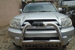 Nigeria Used Toyota 4-Runner 2005 Model Silver