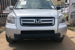 Foreign Used Honda Pilot 2007 Model Silver
