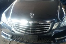 Foreign Used 2011 Grey Mercedes-Benz E350 for sale in Lagos.
