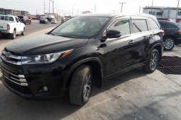 Foreign Used Toyota Highlander 2018 Model Black