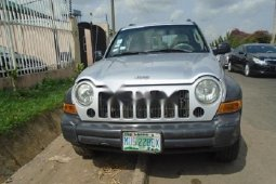 Nigeria Used Jeep Liberty 2004 Model Silver