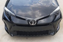 Foreign Used Toyota Corolla 2017 Model Black