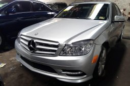 Tokunbo Mercedes-Benz C300 2010 Model Silver