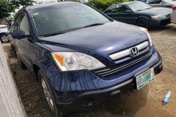Nigeria Used Honda CR-V 2007 Model Blue