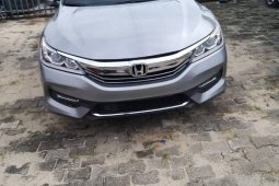 Grey Foreign Used Honda Accord 2016 Model for sale