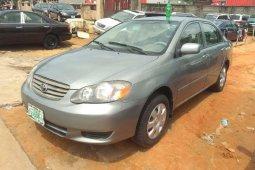 Naija Used 2004 Toyota Corolla for sale