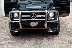 Naija Clean Used Mercedes-Benz G63 2010 Model