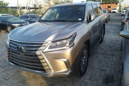 Foreign Used Lexus LX 2016 Model Gray