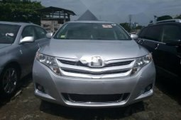 Foreign Used 2014 Silver Toyota Venza for sale in Lagos.