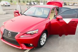Foreign Used 2014 Red Lexus IS for sale in Lagos.