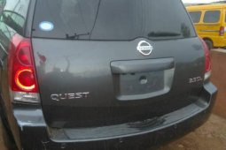 Clean Nigeria Used Nissan Quest 2006 Model for sale