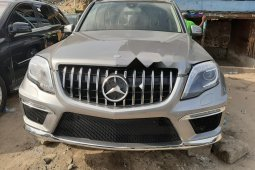 Foreign Used 2013 Grey Mercedes-Benz GLK for sale in Lagos.