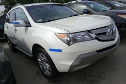 Foreign Used Acura MDX 2009 Model White