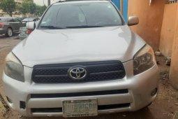 Nigeria Used Toyota RAV4 2008 Model Silver