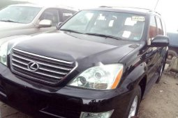 Foreign Used Lexus GX 2006 Model Black