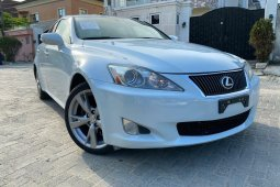 Foreign Used Lexus IS 2010 Model White