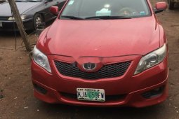 Nigeria Used Toyota Camry 2010 Model Red