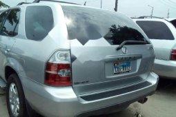 Foreign Used 2005 Model Silver Acura MDX for sale in Lagos