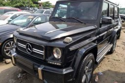 Foreign Used Mercedes-Benz G63 2011 Model for sale
