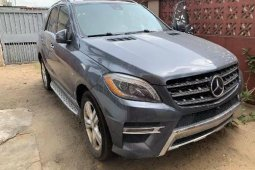 Clean Foreign Used Mercedes-Benz ML350 2012 Model for Sale