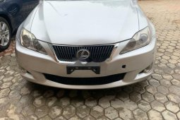 Neatly Used Tokunbo Lexus IS 2010 Model for Sale