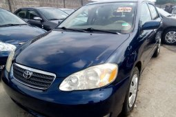 Clean Direct Tokunbo Toyota Corolla 2005 Model