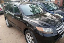 Nigeria Used Hyundai Santa Fe 2007 Model Black