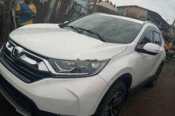 Foreign Used 2018 White Honda CR-V for sale in Lagos.