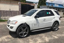 Neatly Foreign Used Mercedes-Benz ML350 2010 Model for sale