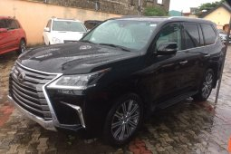 Clean  Toks  Lexus LX 2017 Model for sale