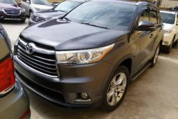 Clean Tokunbo Toyota Highlander 2015 Model for sale