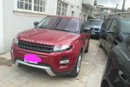 Foreign Used 2012 Red Land Rover Range Rover Evoque for sale