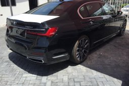 Brand New 2020 Black BMW 7 Series for sale in Lagos.