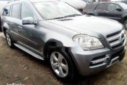 Foreign Used Mercedes-Benz GL-Class 2010 Model Silver