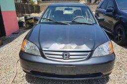 Nigeria Used Honda Civic 2003 Model Gray