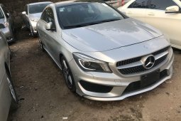 Foreign Used Mercedes-Benz CLA-Class 2016 Model Silver