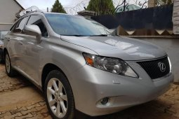 Foreign Used Lexus RX 2010 Model Silver