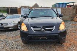 Nigeria Used Honda CR-V 2002 Model Black
