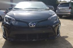 Foreign Used Toyota Corolla 2017 Model Gray