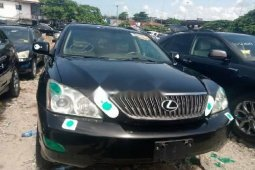 Foreign Used Lexus RX 2005 Model Black