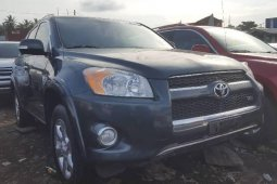 Foreign Used 2010 Blue Toyota RAV4 for sale in Lagos.