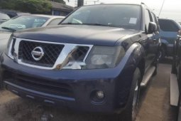 Foreign Used Nissan Pathfinder 2008 Model Blue