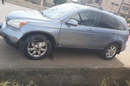 Nigeria Used Honda CR-V 2008 Model Blue