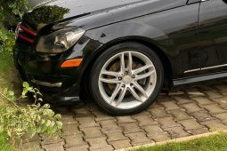 Foreign Used Mercedes-Benz C350 2013 Model Black