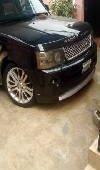 Nigeria Used Land Rover Range Rover Sport 2007 Model Black