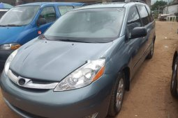 Foreign Used Toyota Sienna 2008 Model Gray