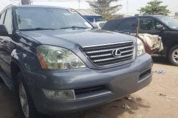 Foreign Used 2005 Grey Lexus GX for sale in Lagos.